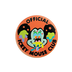 Ickey Mickey Pinback Button