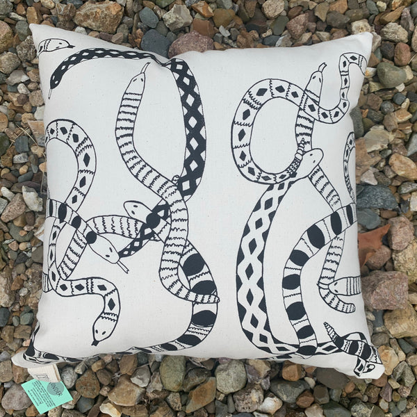 Snakes Pillow
