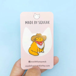 Meowdy Partner Pin