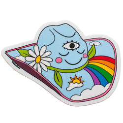 Rainbow Hat Sticker