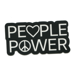 People Power Sticker