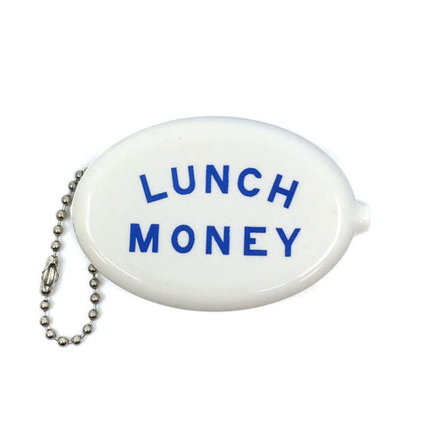 Lunch Money Coin Wallet Keychain