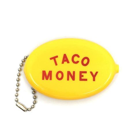 Taco Money Coin Wallet Keychain