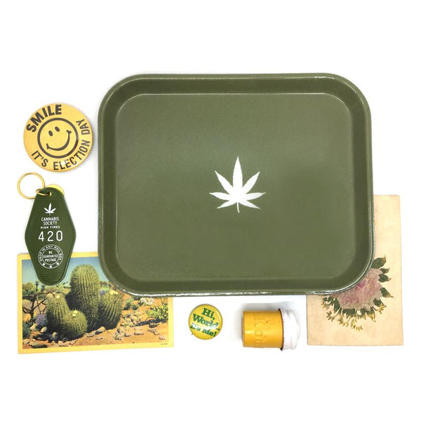 Medium Green Weed Tray