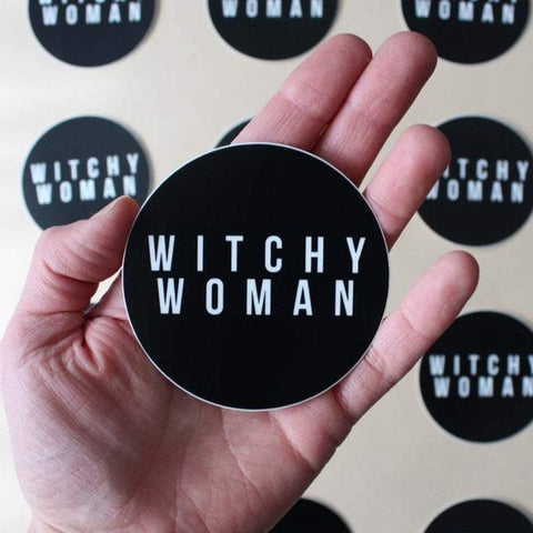 Witchy Woman Sticker