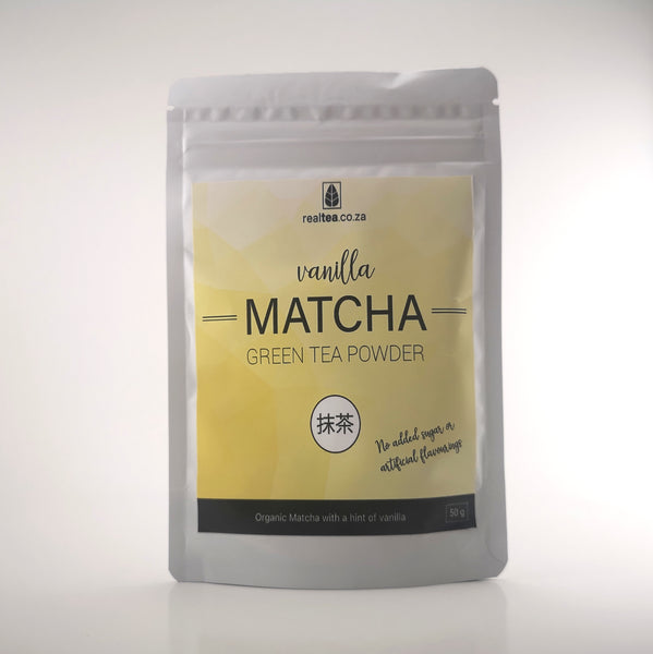 Non-Artificial Vanilla Premium Matcha Green Tea Powder (50g)