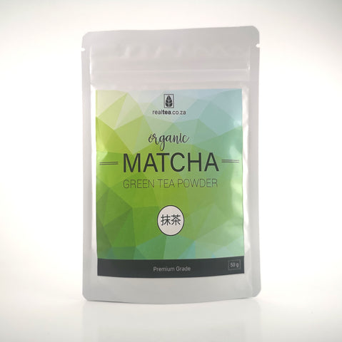 Premium Matcha Green Tea Powder Packet (50g)