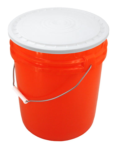 Easy On Easy Off Lid for Bucket Red Snap-On Bucket Lid