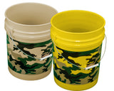 5 Gallon Camo-Printed Bucket - TankBarn