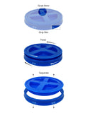 Assorted Colors Gamma Seal Lid Pack