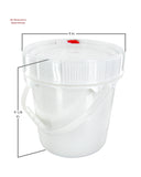 1.25 Gallon Screw-top Bucket