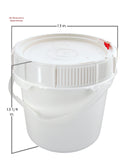 3.5 Gallon Screw-top Bucket