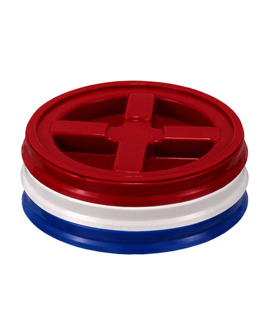Assorted Colors Gamma Seal Lid Pack - TankBarn