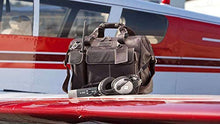 Load image into Gallery viewer, The Gann, Leather Flight Bag