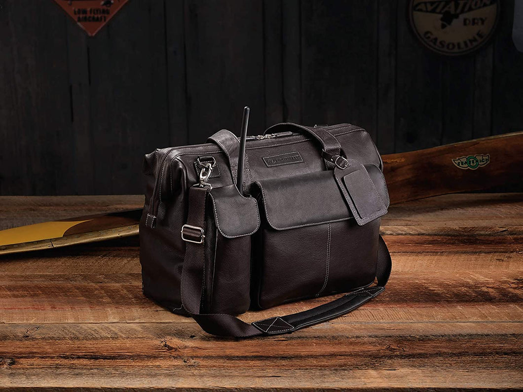 The Gann, Leather Flight Bag