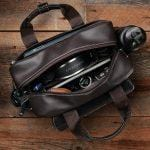 Load image into Gallery viewer, The Markham, Leather Flight Bag