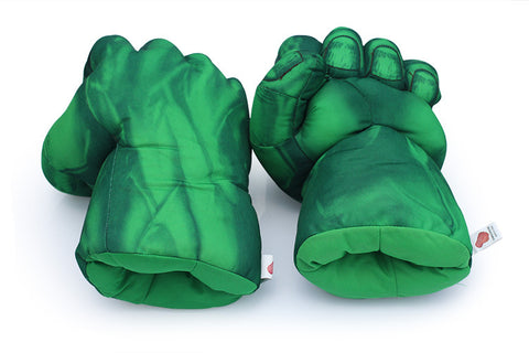Hulk and Spider Man Gloves