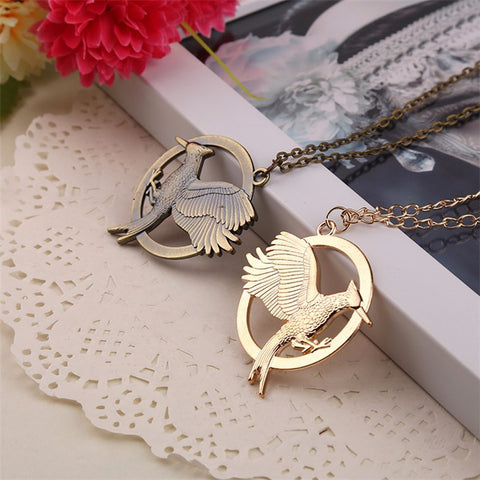 Catching Fire Pendant Necklace