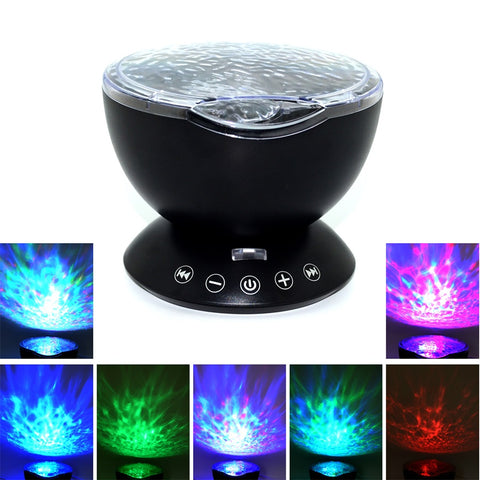 Ocean Wave Projector Night Light