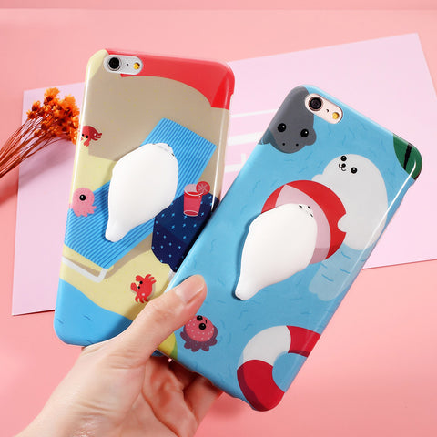 Super Kawaii Stretchy Animals Phone Case