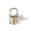 Image of Transparent Practice Padlock