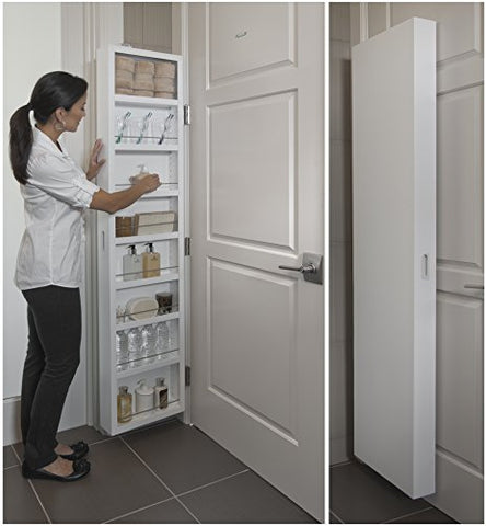 Behind The Door Storage Cabinet - Topmazing