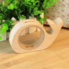 Image of Cute Animal Wooden Piggy Bank