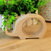 Image of Cute Animal Wooden Piggy Bank - Topmazing