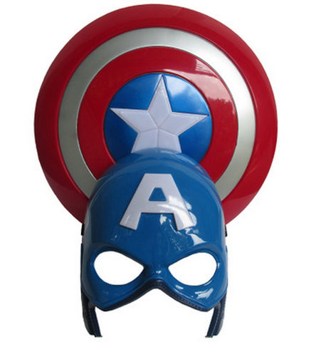 The Marvel Captain America Shield Light-Emitting - Topmazing