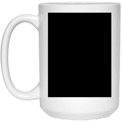 21504 15 oz. White Mug Black Test