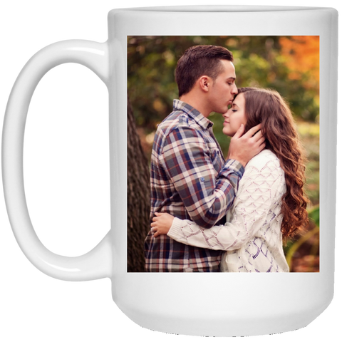 21504 15 oz. White Mug love test
