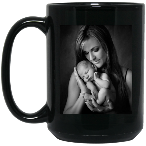 BM15OZ 15 oz. Black Mug mom test - Topmazing