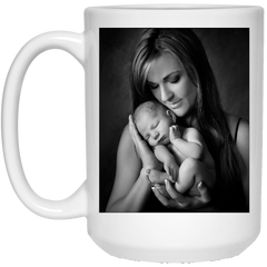 21504 15 oz. White Mug mom test