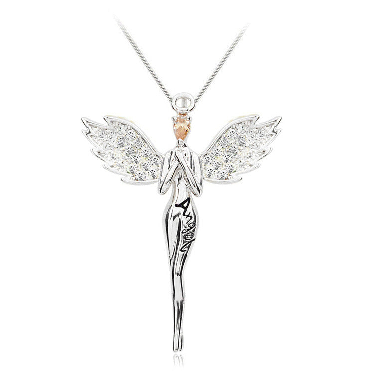 for sabo normal product guardian women sterling necklace silver jewelry thomas lyst angel