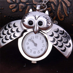 Owl Necklace Watch