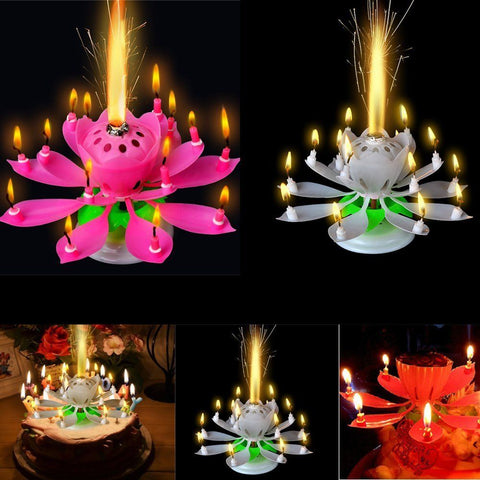 Birthday Candles - Topmazing