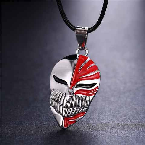 Bleach Kurosaki Mask Necklace - Topmazing