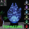Image of Star Wars Millennium Falcon 3D Led Lights - Topmazing