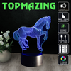 Image of Galloping Horse 3D LED Lights - Topmazing