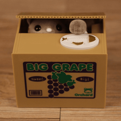 Lovely Animal Piggy Bank Box