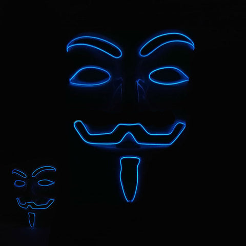 LED Guy Fawkes Mask