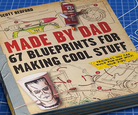 Blueprints for Making Cool Stuff Book - Topmazing