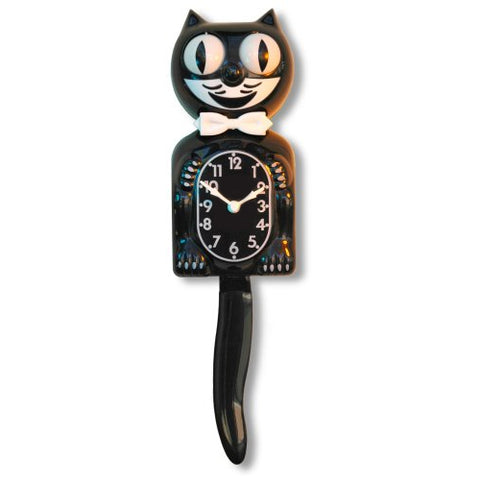 Moving Cat Clock