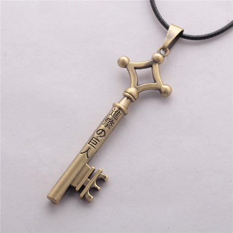 Attack on Titan Key Necklace - Topmazing