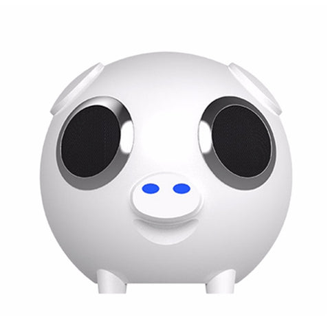 2 in 1 Pig Bluetooth Speaker