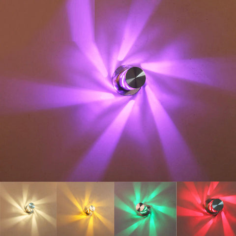 LED Creative Aluminum Wall Lamp