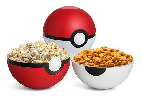 Pokemon Ball Serving Bowl Set