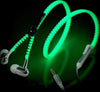Image of Cute Luminous Metal Zipper Earphone - Topmazing