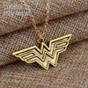 Image of Wonder Woman Gold Necklace - Topmazing