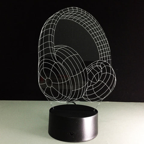 Earphone 3D LED Lights - Topmazing